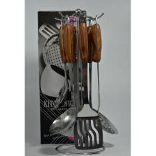Набор аксессуаров для кухни 7 предметов,пластиковая ручка